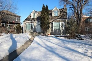 Character home in prime River Heights location!