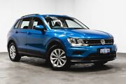 2017 Volkswagen Tiguan 5N MY17 110TSI DSG 2WD Trendline Blue 6 Speed Sports Automatic Dual Clutch Welshpool Canning Area Preview