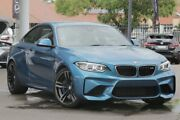 2017 BMW M2 F87 D-CT Long Beach Blue 7 Speed Sports Automatic Dual Clutch Coupe Broadmeadow Newcastle Area Preview