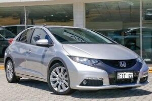 2012 Honda Civic 9th Gen VTi-L Silver 5 Speed Sports Automatic Hatchback St James Victoria Park Area Preview