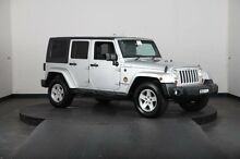 2008 Jeep Wrangler Unlimited JK Sport (4x4) Silver 4 Speed Automatic Softtop Greenacre Bankstown Area Preview