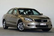 2008 Honda Accord 40 MY06 Upgrade VTi Beige 5 Speed Automatic Sedan Coopers Plains Brisbane South West Preview