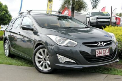 2011 Hyundai i40 VF Elite Tourer Grey 6 Speed Sports Automatic Wagon