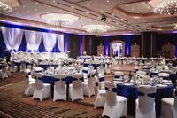 Wedding and Party Rentals --- CHAIR COVER@ $1.00 LINENS AND MORE