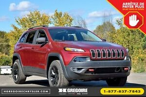2016 Jeep Cherokee Trailhawk RED