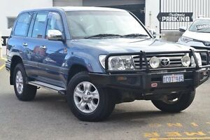 2007 Toyota Landcruiser UZJ100R GXL Blue Storm 5 Speed Automatic Wagon Claremont Nedlands Area Preview