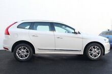2014 Volvo XC60 DZ MY14 T6 GEARTRONIC AWD LUXURY Ice White 6 Speed Sports Automatic Wagon Glen Iris Boroondara Area Preview
