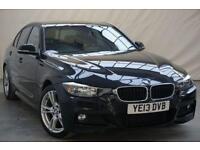 2013 BMW 3 Series 2.0 320D M SPORT 4d AUTO 181 BHP Diesel black Automatic