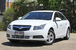 2010 Holden Cruze JG CD White 6 Speed Sports Automatic Sedan Underwood Logan Area Preview