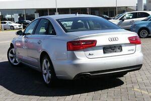 2011 Audi A6 4G Multitronic Silver 1 Speed Constant Variable Sedan