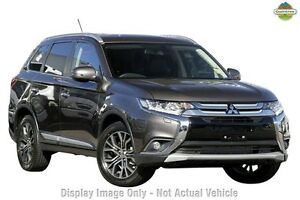2016 Mitsubishi Outlander ZK MY16 Exceed 4WD Ironbark 6 Speed Sports Automatic Wagon Wilson Canning Area Preview