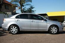2012 Mitsubishi Lancer CJ MY12 ES Silver 6 Speed Constant Variable Sedan Chermside Brisbane North East Preview