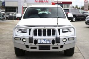 2014 Jeep Grand Cherokee WK MY2014 Laredo White 8 Speed Sports Automatic Wagon