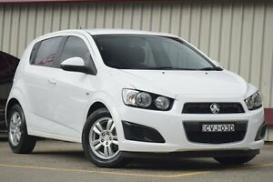 2014 Holden Barina TM MY15 CD White 6 Speed Automatic Hatchback Homebush Strathfield Area Preview