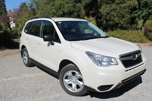 2013 Subaru Forester S4 MY13 2.5i Lineartronic AWD White 6 Speed Constant Variable Wagon Hawthorn Mitcham Area Preview
