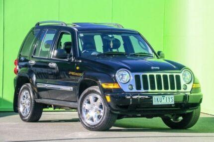 2005 Jeep Cherokee KJ MY2005 Limited Black 4 Speed Automatic Wagon