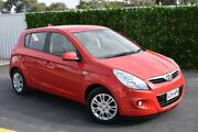 2012 Hyundai i20 PB MY12 Active Red 5 Speed Manual Hatchback St Marys Mitcham Area Preview