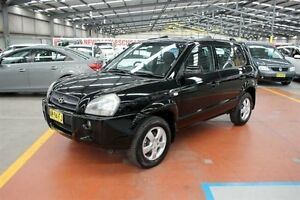 2006 Hyundai Tucson City Black 4 Speed Sports Automatic Wagon Maryville Newcastle Area Preview