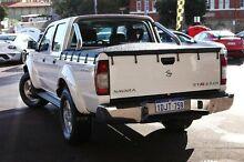 2010 Nissan Navara D22 MY2010 ST-R White 5 Speed Manual Utility Northbridge Perth City Preview