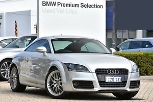 2008 Audi TT 8J S tronic Silver 6 Speed Sports Automatic Dual Clutch Coupe Victoria Park Victoria Park Area Preview
