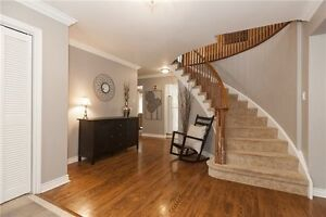 Freehold detached house with fin basement.Clarkson/Lakeshore