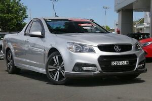 2014 Holden Ute VF MY14 SV6 Ute Storm Silver 6 Speed Manual Utility Gymea Sutherland Area Preview