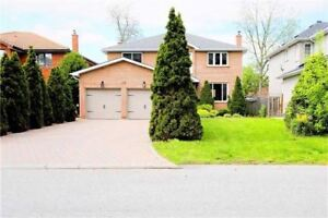 Stunning Detached 2-Storey Home With 4 Bedrooms In Markham