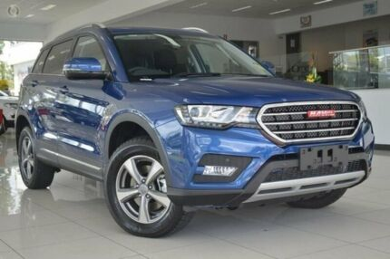 2016 Haval H6 LUX DCT Blue 6 Speed Sports Automatic Dual Clutch Wagon