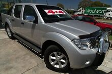 2012 Nissan Navara D40 S5 MY12 ST-X 550 Silver 7 Speed Sports Automatic Utility Bentleigh Glen Eira Area Preview