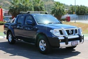 2011 Nissan Navara D40 ST Blue 6 Speed Manual Utility Townsville Townsville City Preview