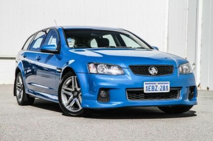 2012 Holden Commodore VE II MY12.5 SV6 Sportwagon Z Series Blue 6 Speed Sports Automatic Wagon East Rockingham Rockingham Area Preview