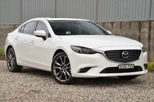 2018 Mazda 6 GL1031 Atenza SKYACTIV-Drive White 6 Speed Sports Automatic Sedan Wyong Wyong Area Preview