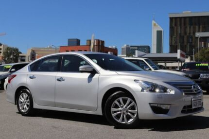 2016 Nissan Altima L33 ST Silver Continuous Variable Sedan Northbridge Perth City Area Preview
