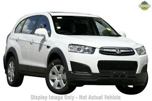 2014 Holden Captiva CG MY14 7 LS Summit White 6 Speed Sports Automatic Wagon Northbridge Perth City Area Preview
