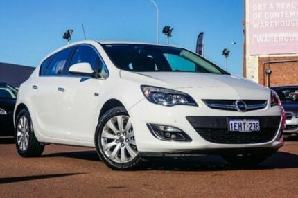 2013 Opel Astra AS Select White 6 Speed Auto Seq Sportshift Hatchback Fremantle Fremantle Area Preview