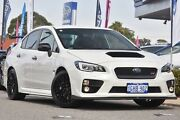 2015 Subaru WRX V1 MY16 STI AWD Crystal White Pearl 6 Speed Manual Sedan Willagee Melville Area Preview