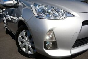 2013 Toyota Prius c NHP10R E-CVT Silver Pearl 1 Speed Constant Variable Hatchback Hybrid Glendalough Stirling Area Preview