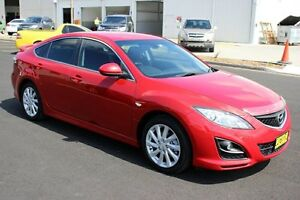 2010 Mazda 6 GH1051 MY09 Classic Red 5 Speed Sports Automatic Hatchback Maryville Newcastle Area Preview