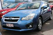2014 Subaru Impreza G4 MY14 2.0i Lineartronic AWD Luxury Blue 6 Speed Constant Variable Hatchback Slacks Creek Logan Area Preview