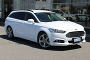 2018 Ford Mondeo MD 2018.25MY Trend PwrShift Frozen White 6 Speed Sports Automatic Dual Clutch Wagon Osborne Park Stirling Area Preview