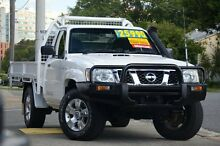 2010 Nissan Patrol GU 6 MY10 DX White 5 Speed Manual Cab Chassis Windsor Brisbane North East Preview