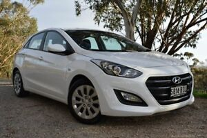 2015 Hyundai i30 GD3 Series II MY16 Active White 6 Speed Sports Automatic Hatchback St Marys Mitcham Area Preview