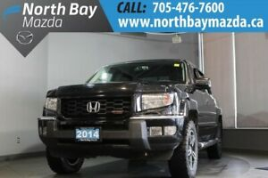 2014 Honda Ridgeline Sport 4WD with Cruise Control, Clean CarPro