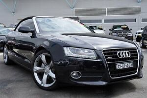 2010 Audi A5 8T MY10 S tronic quattro Black 7 Speed Sports Automatic Dual Clutch Cabriolet Pearce Woden Valley Preview