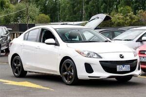 2012 Mazda 3 BL10F2 Neo White 6 Speed Manual Sedan Ringwood East Maroondah Area Preview
