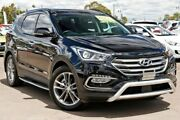 2015 Hyundai Santa Fe DM3 MY16 Highlander Black 6 Speed Sports Automatic Wagon McGraths Hill Hawkesbury Area Preview