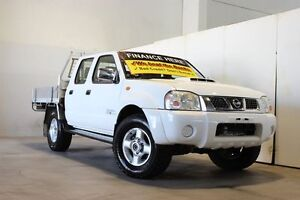 2009 Nissan Navara D22 MY08 ST-R (4x4) White 5 Speed Manual Dual Cab Pick-up Underwood Logan Area Preview