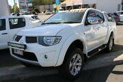 2014 Mitsubishi Triton MN MY15 GLX-R Double Cab White 5 Speed Sports Automatic Utility Cleveland Redland Area Preview