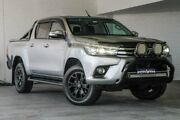 2016 Toyota Hilux GUN126R SR5 Double Cab Silver 6 Speed Sports Automatic Utility Midvale Mundaring Area Preview