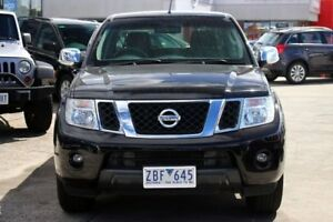 2012 Nissan Navara D40 S5 MY12 ST-X 550 Black 7 Speed Sports Automatic Utility